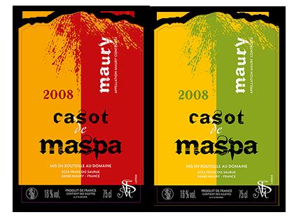 Casot de Maspa étiquettes
